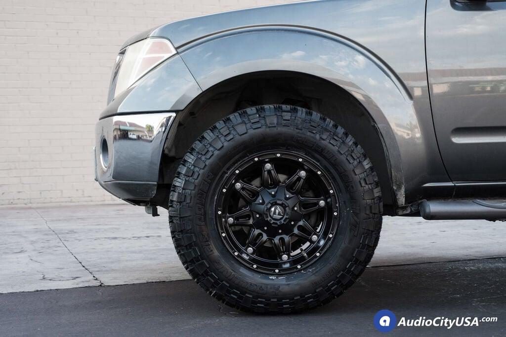 "Frontier Leveling Kit >> 18"" Fuel Wheels Hostage D531 Matte Black   33x12.5x18 RBP MT Tires   Bilstein Shock Leveling ..."