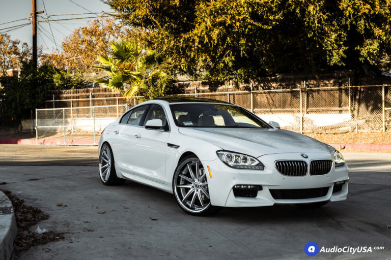 22″ Asanti Wheels ABL-5 Silver Machined with SS Chrome Lip Rims | 2015 BMW 640i Gran Coupe | 2015 BMW 640i Gran Coupe