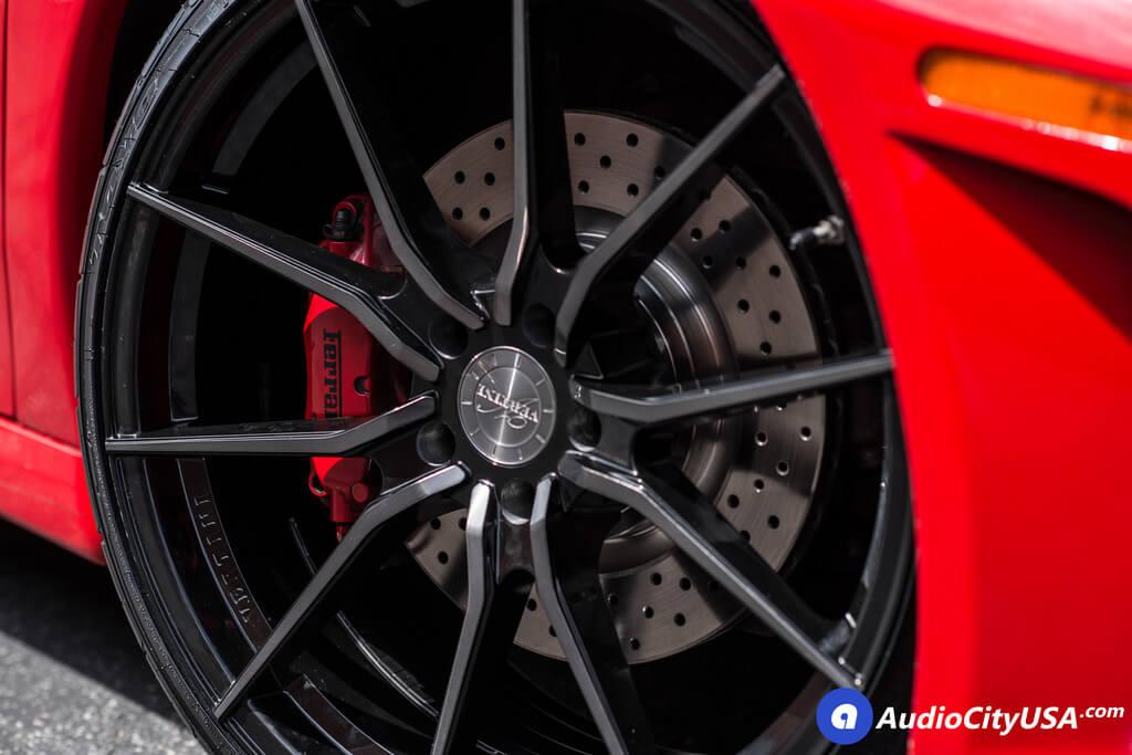 "20"" Vertini Wheels RFS1.2 Gloss Black Machined with Tint Face Rims"