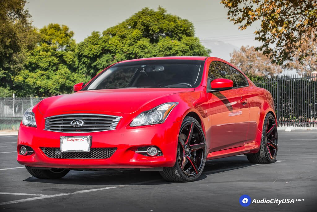 20 marquee wheel 3226 gloss black with red accent rims 2013 infiniti g37 coupe blogblog. Black Bedroom Furniture Sets. Home Design Ideas