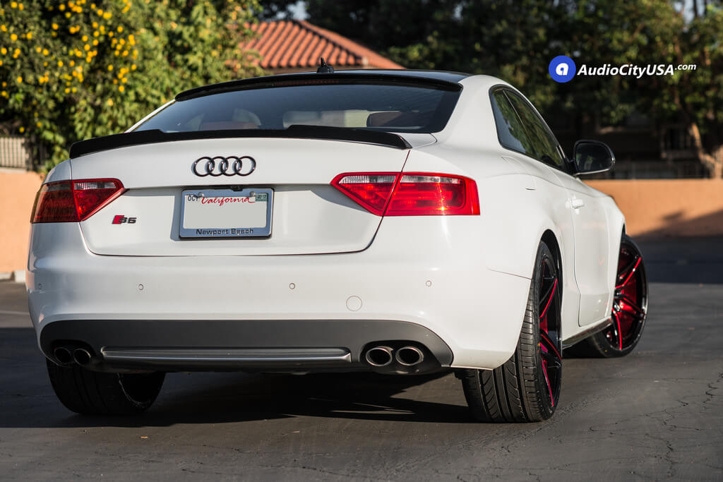 20 Quot Mq Wheels 3259 Gloss Black With Red Accents Rims