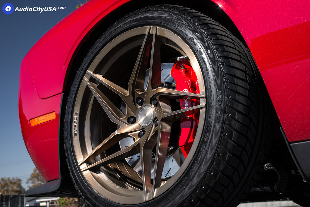 "20"" Stance Wheels SF04 Brush Bronze Rims | Eibach Springs ..."