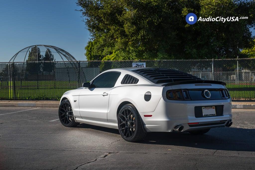 Niche Wheels Mustang >> 20 Niche Wheels M189 Intake Gloss Black Rims 255 35 20 Falken