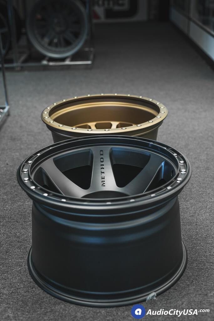**NEW** 20x12 Method Wheels 610 & 605 Satin Black, Bronze ...