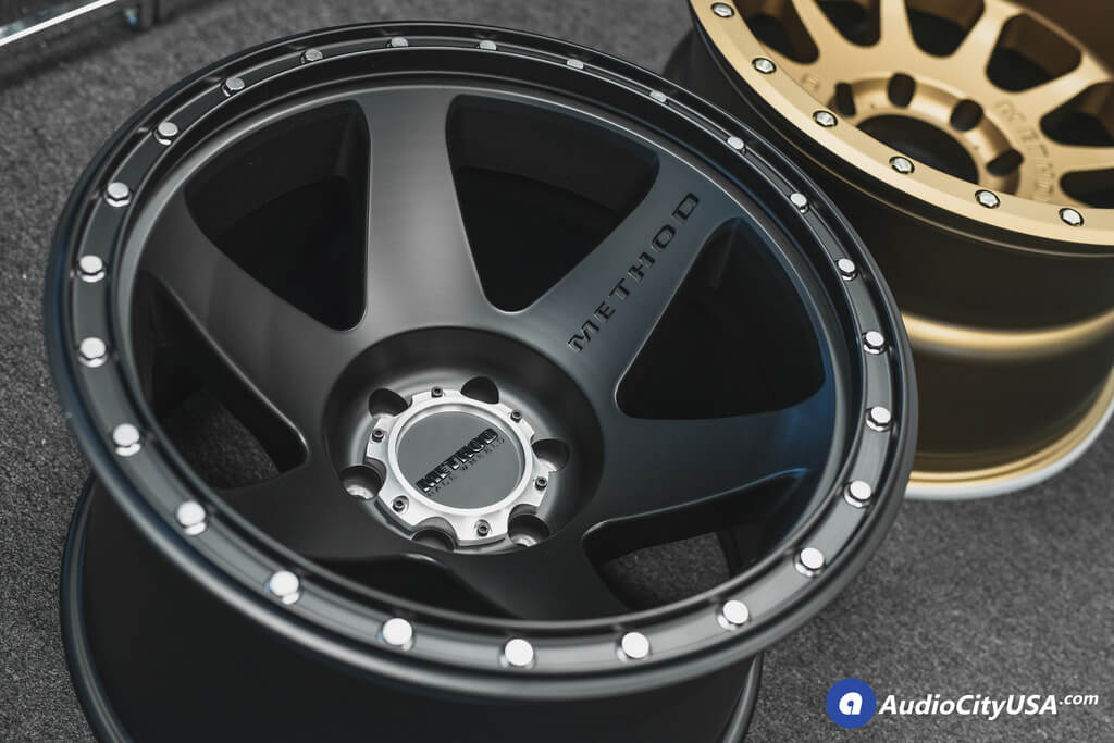 20 Gmc Wheels >> **NEW** 20x12 Method Wheels 610 & 605 Satin Black, Bronze ...