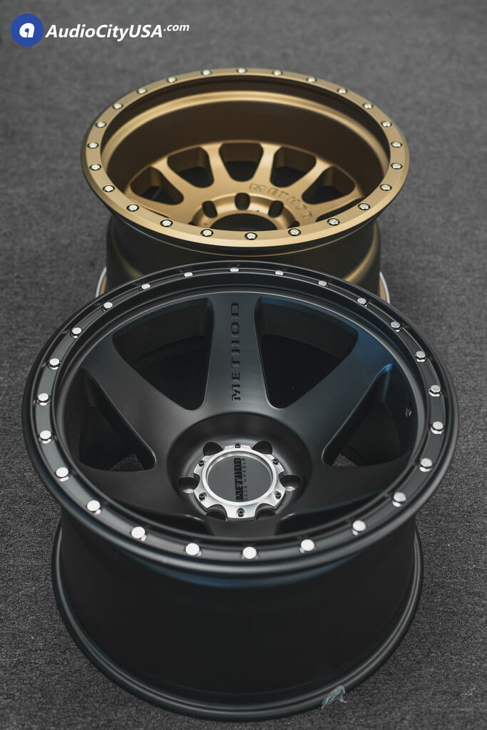 New 20x12 Method Wheels 610 Amp 605 Satin Black Bronze