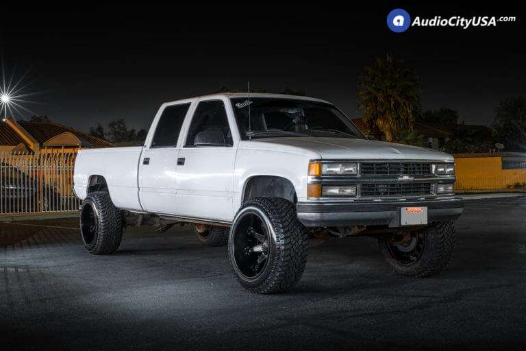 22″ Fuel Wheels D509 Octane Matte Black Rims | 325-50-22 Atturo TrailBlade AT 1998 | Chevy Silverado 1500 4×4