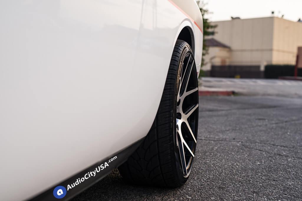 "West Covina Dodge >> 22"" Capri Wheels C0136 Black Machined CONCAVE Rims   2010 ..."