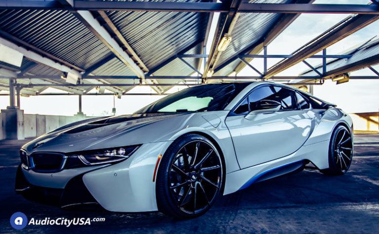 22″ Savini Wheels BM15 Gloss Black Rims | Pirelli P-Zero Performance Tire | 2016 BMW i8