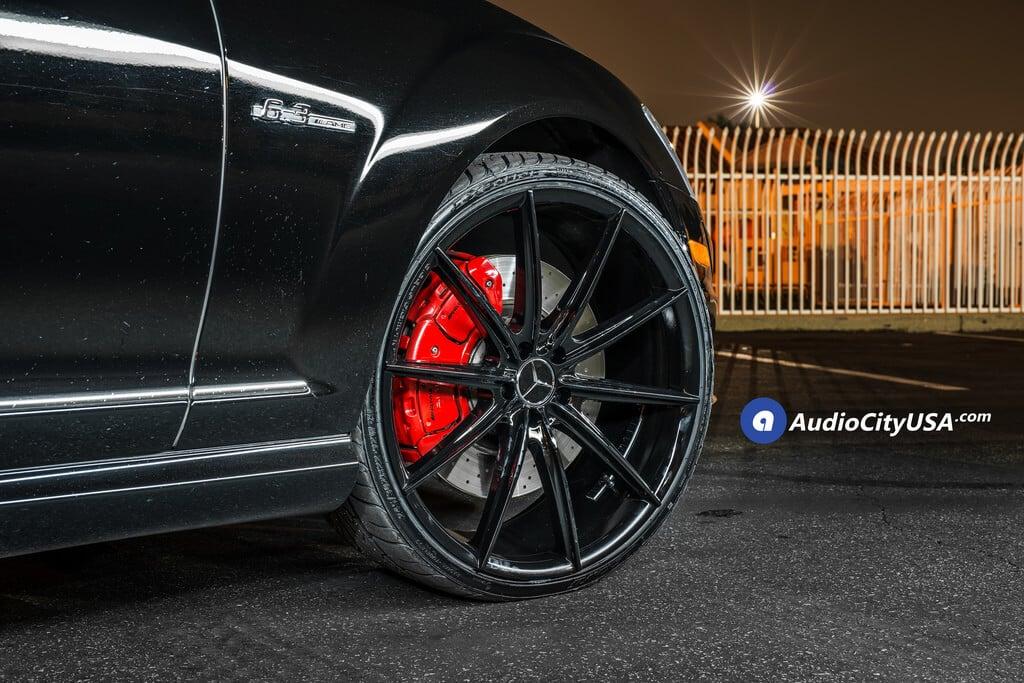 "West Covina Mercedes >> 22"" Blaque Diamond Wheels BD-11 Gloss Black Rims | 2009 Mercedes Benz S63 AMG - BlogBlog"