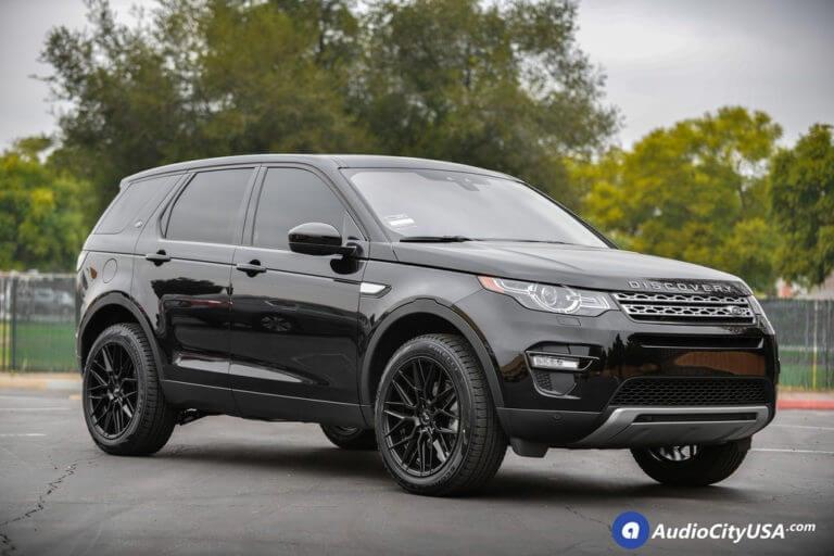 20″ Niche Wheels M190 Gamma Matte Black Rims | Pirelli Tires Scorpion STR | 2018 Land Rover Discovery