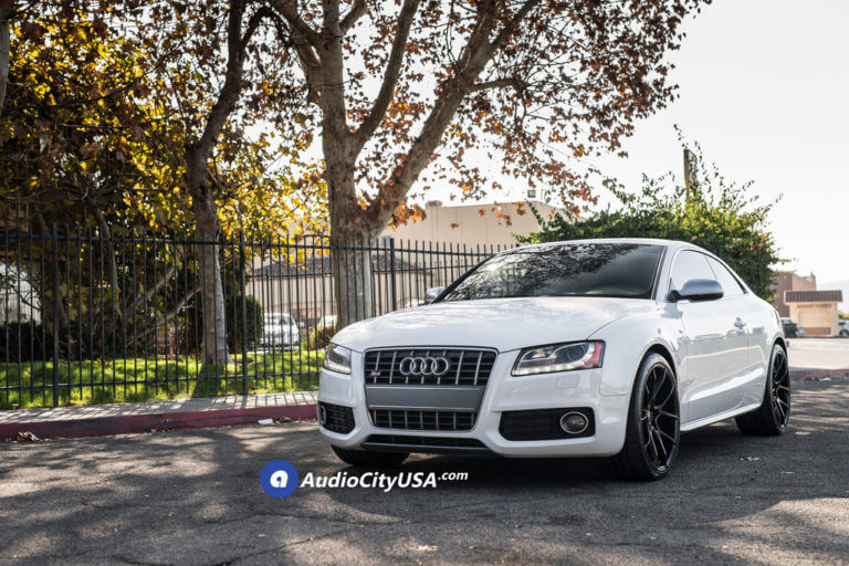 20″ Dual Concave Savini Wheels BM14 Gloss Black Rims | Toyo Tires Extensa HP II | 2010 Audi S5