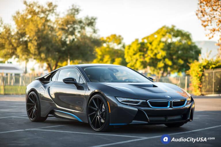 22″ Savini Wheels BM15 Gloss Black Super Concave Rims | 2016 BMW i8