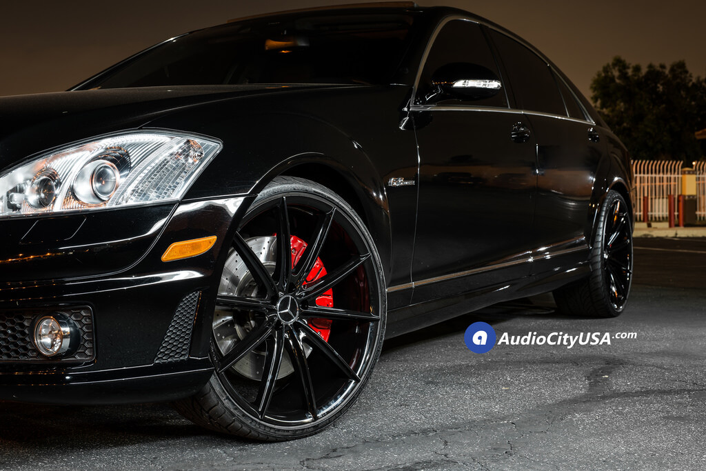 "West Covina Mercedes >> 22"" Blaque Diamond Wheels BD-11 Gloss Black Rims 