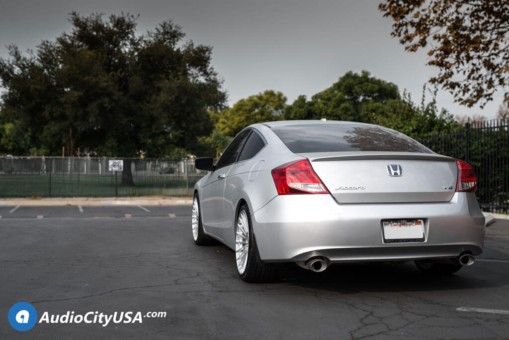 "19"" TSW Wheels Turbina Titanium Silver Rotary Forged Rims for 2009 Honda Accord Coupe V6"