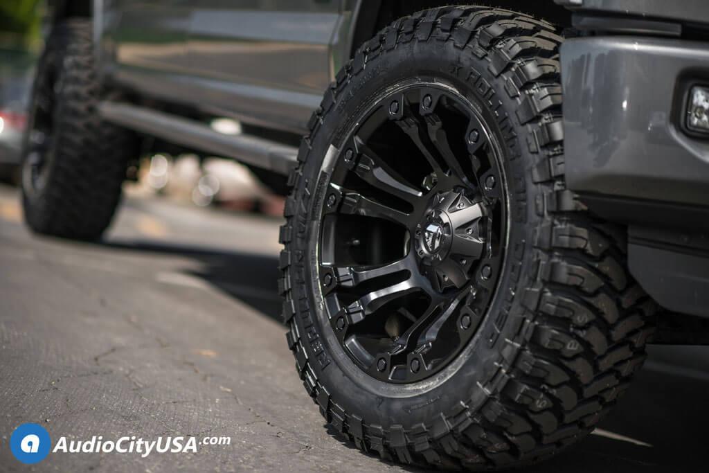 20 Fuel Wheels D560 Vapor Matte Black Rims 2 5 Ams Leveling Kit 33x12 50x20 Rbp M T Tires 2016 Ford F 150 Blg020618 Audio City Usaaudio City Usa