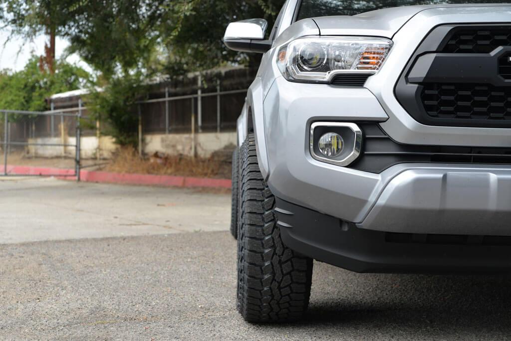 Fuel Wheels D630 Tactic Matte Black Off-Road Rims with Falken Tires