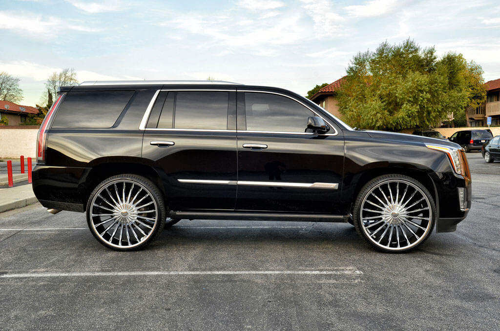 "2013 Cadillac Escalade For Sale >> 28"" Velocity Wheels VW11 Chrome Rims 