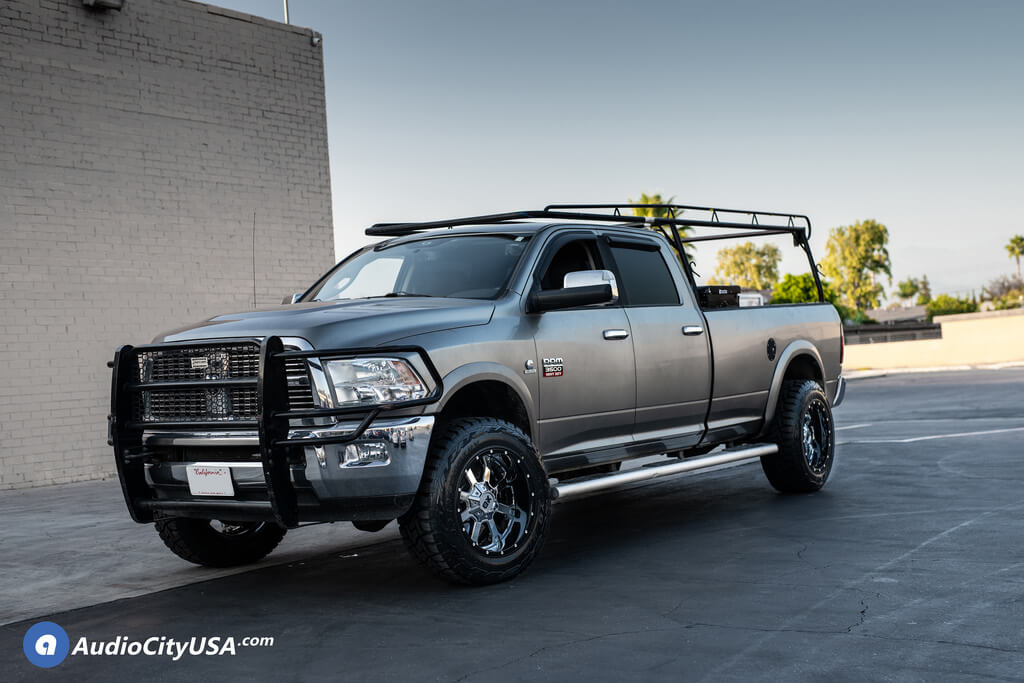 """20"""" XD Wheels XD202 Buck 25 Chrome with Black Milled Lip Off-Road Rims 