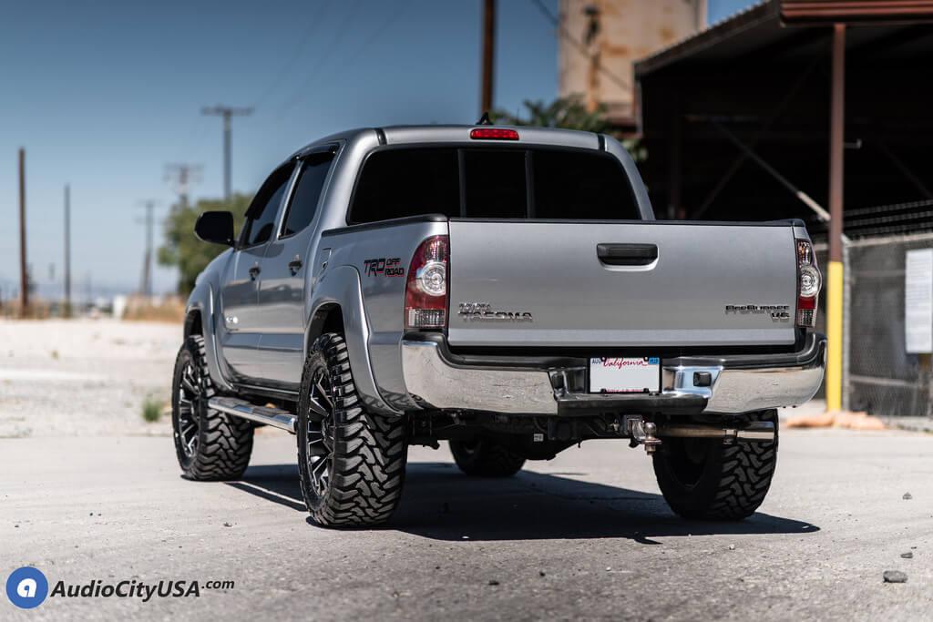 "20"" Fuel Wheels D546 Assault Black Milled Off-Road Rims"