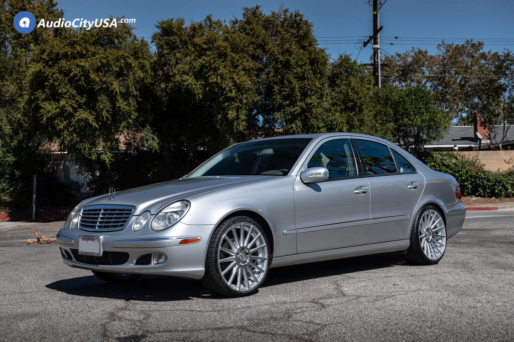 "West Covina Mercedes >> 20"" Staggered Road Force Wheels RF15 Silver Rims 