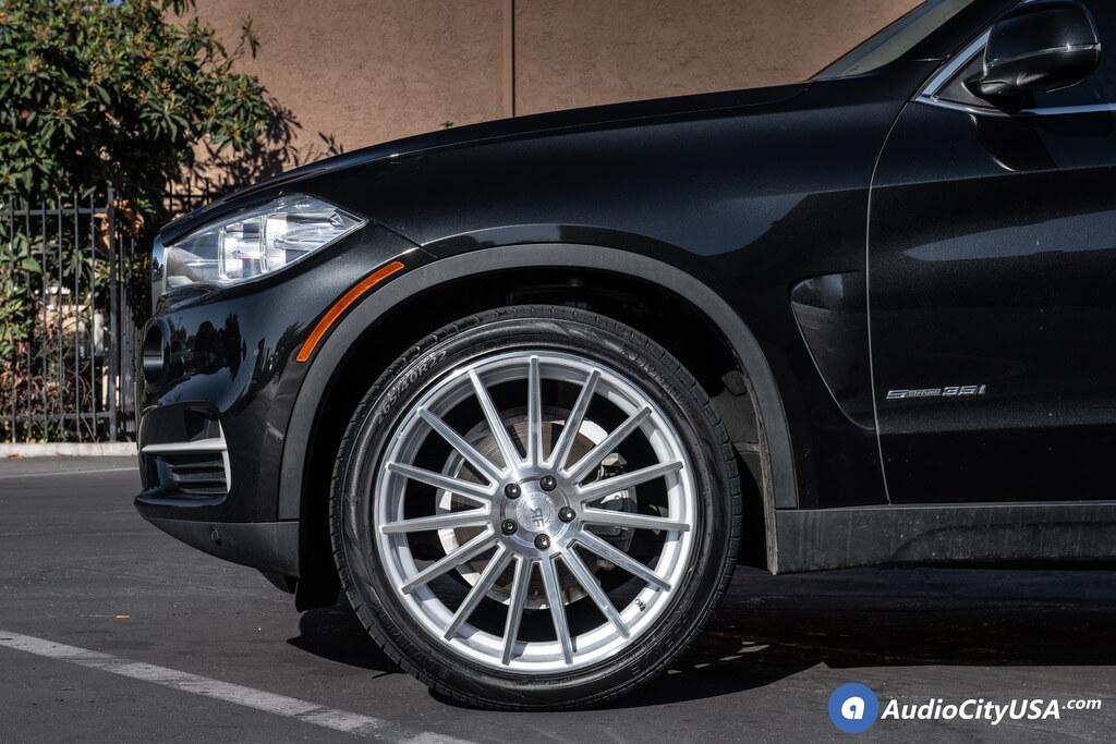 Road Force Wheels RF 15 Silver Rims Audio City USA