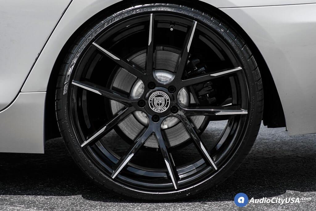 22 Quot Staggered Lexani Wheels Stuttgart Gloss Black With