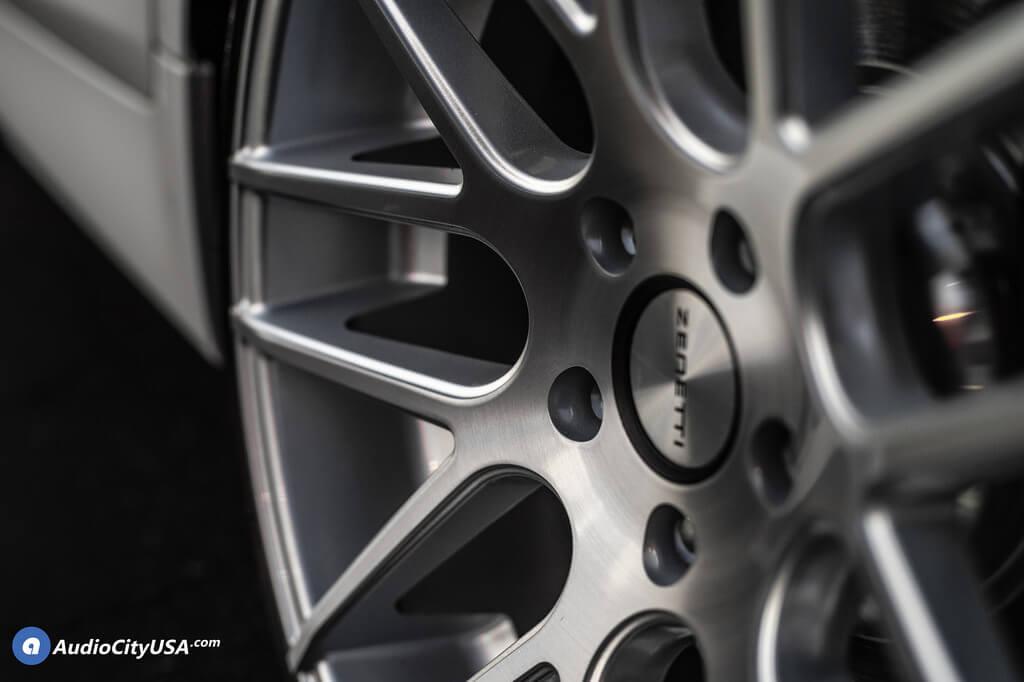"20"" Staggered Zenetti Wheels"