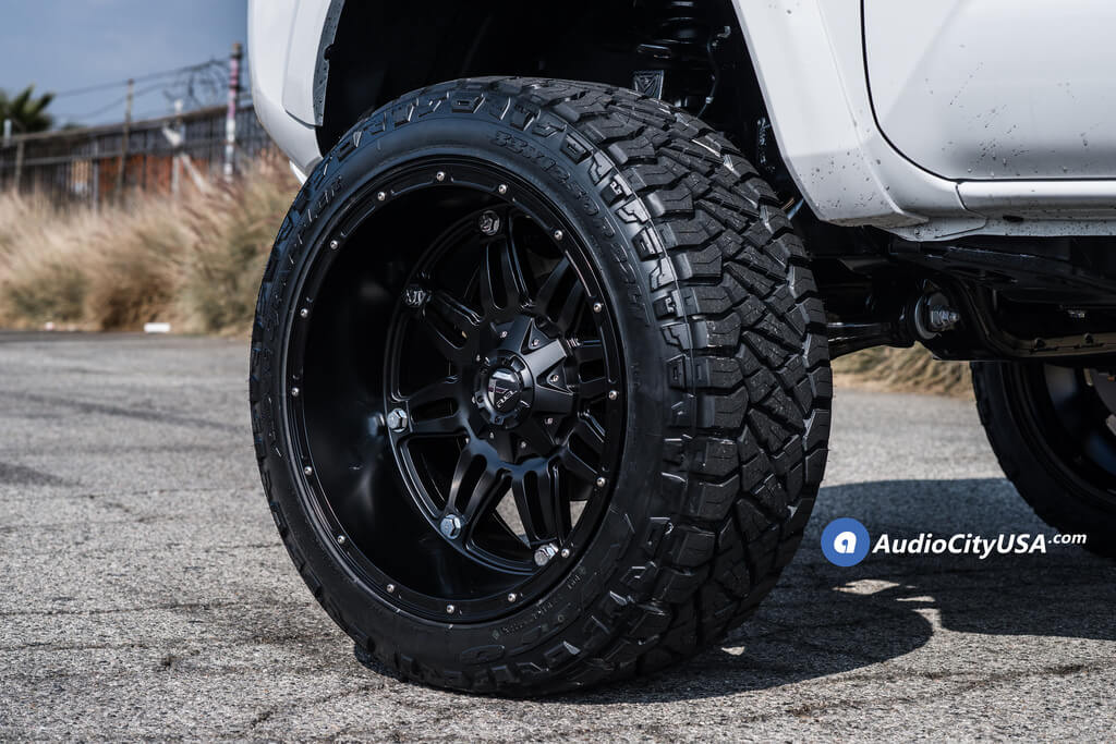 22 Quot Fuel Wheels D531 Hostage Matte Black Off Road Rims 6