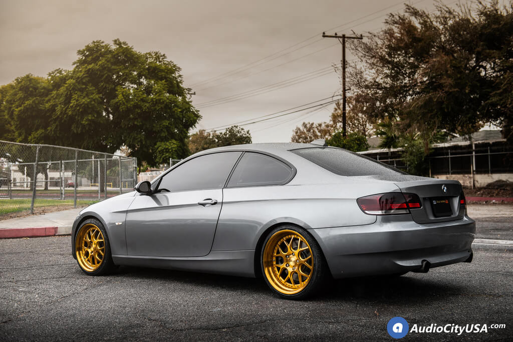 19 Staggered Rennen Wheels Bmw E90 335i Coupe Audio City Usaaudio City Usa
