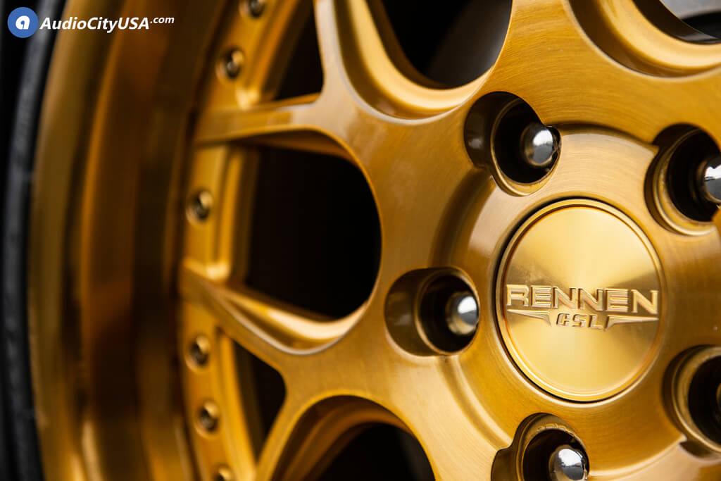 """19"""" Staggered Rennen Wheels"""