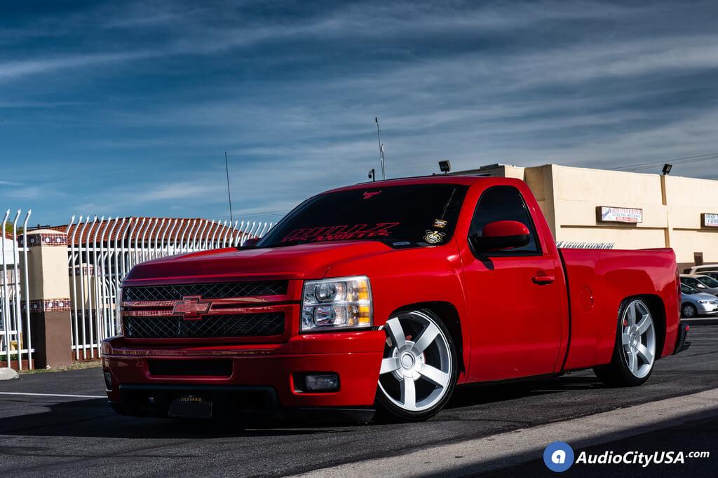 "22"" Chevy 1500 SS Truck Wheels Silver OEM Replica Rims ..."