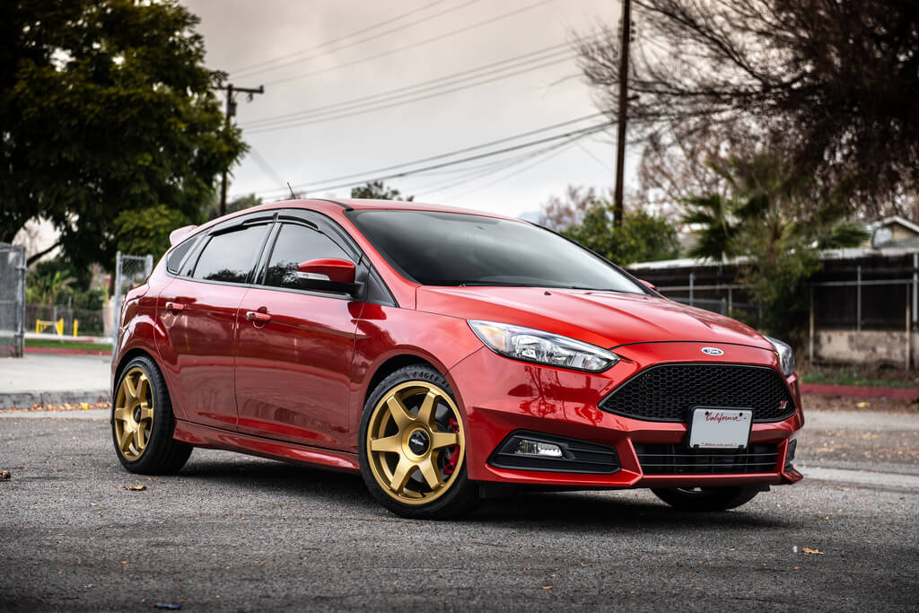 18 Rotiform Wheels R118 Six Matte Gold Rims Goodyear