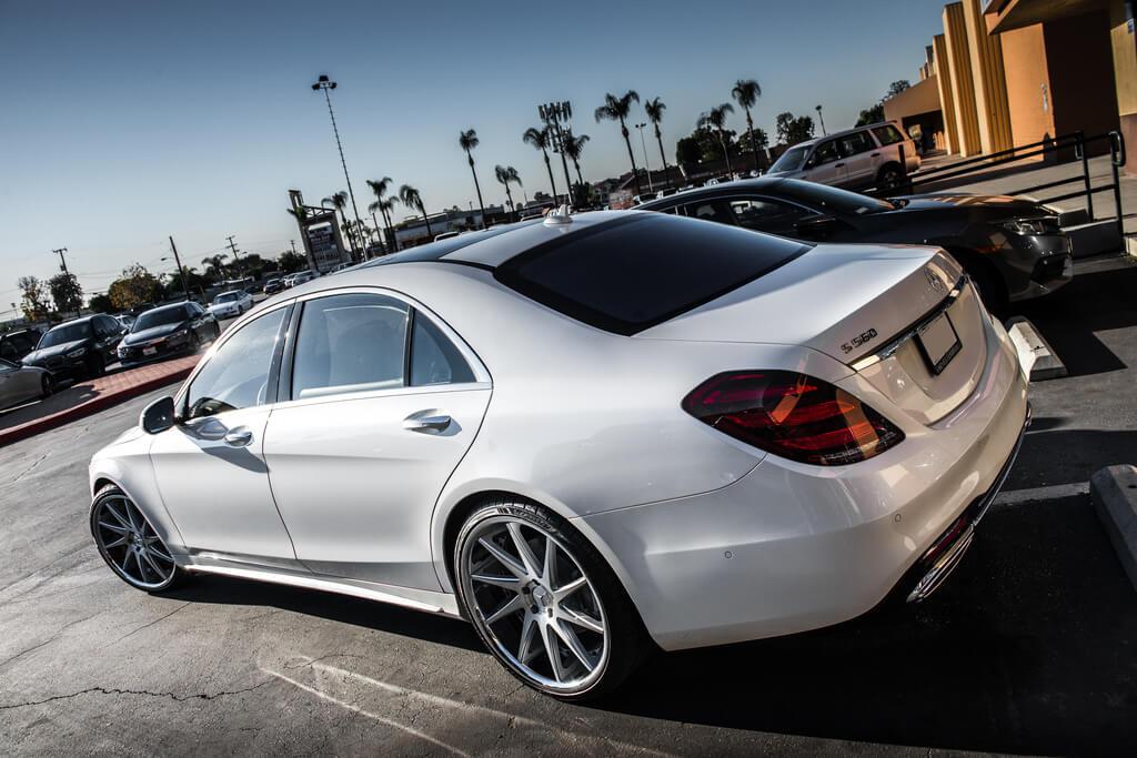 Mercedes S Azad Az Silver Chrome Lip Audiocityusa