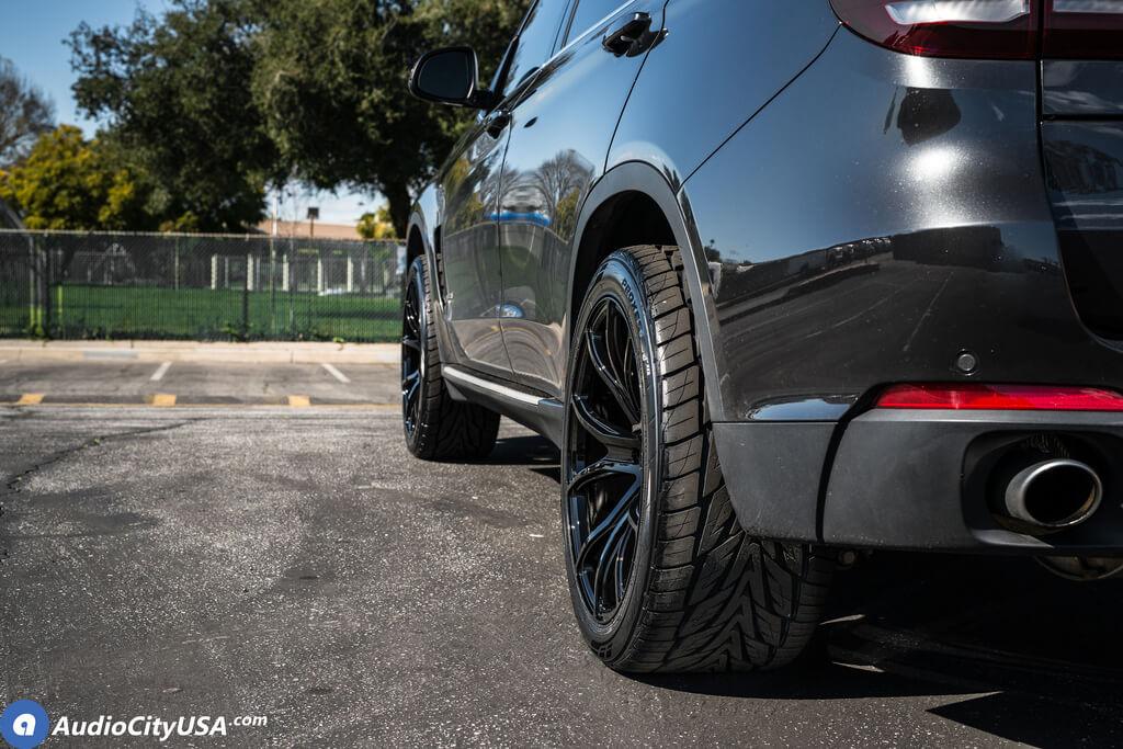 20 Staggered Varro Wheels Vd01 Satin Black Rims Toyo Proxes St