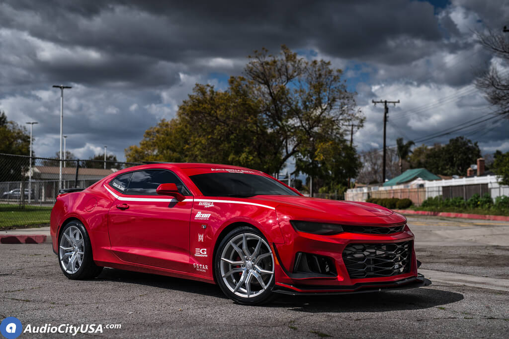"""20"""" Staggered Rosso Wheels"""