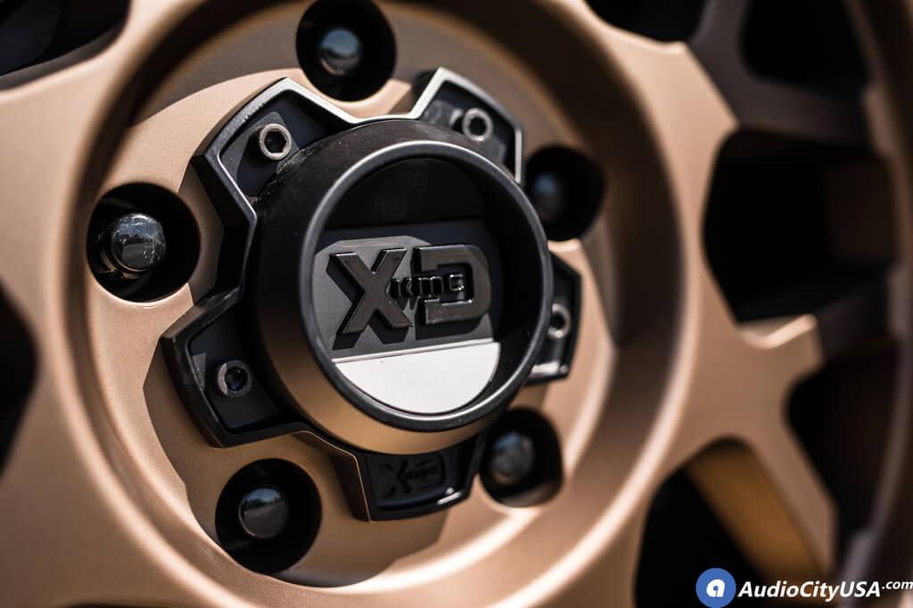 "17"" XD Wheels XD135 Grenade OR Matte Bronze with Matte Black Lip Off-Road Rims"