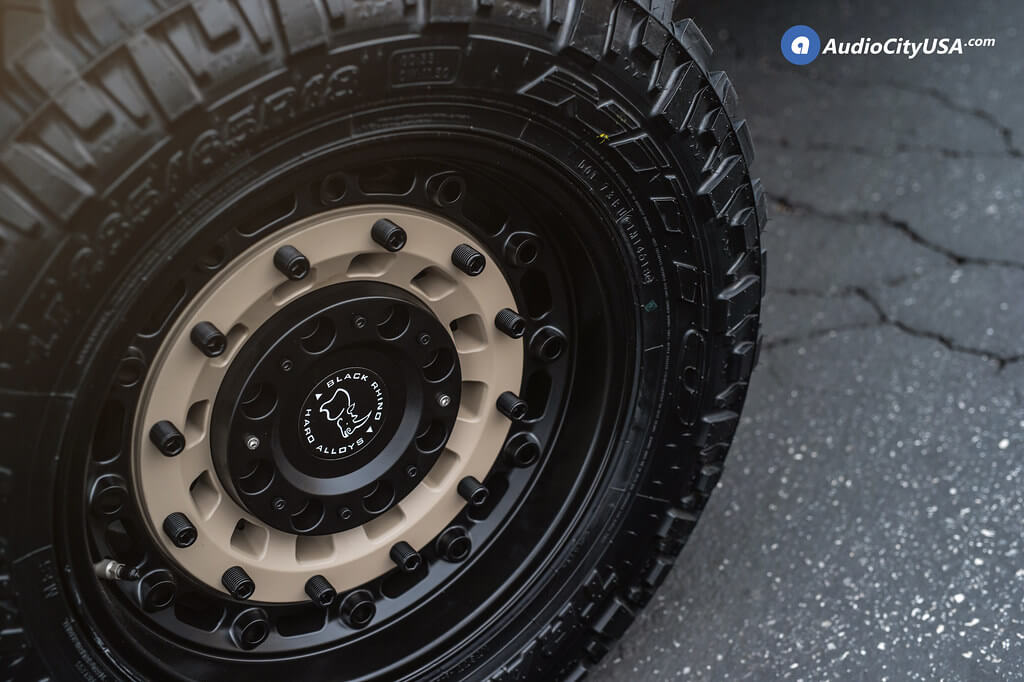 "18"" Black Rhino Wheels Audio City USA"
