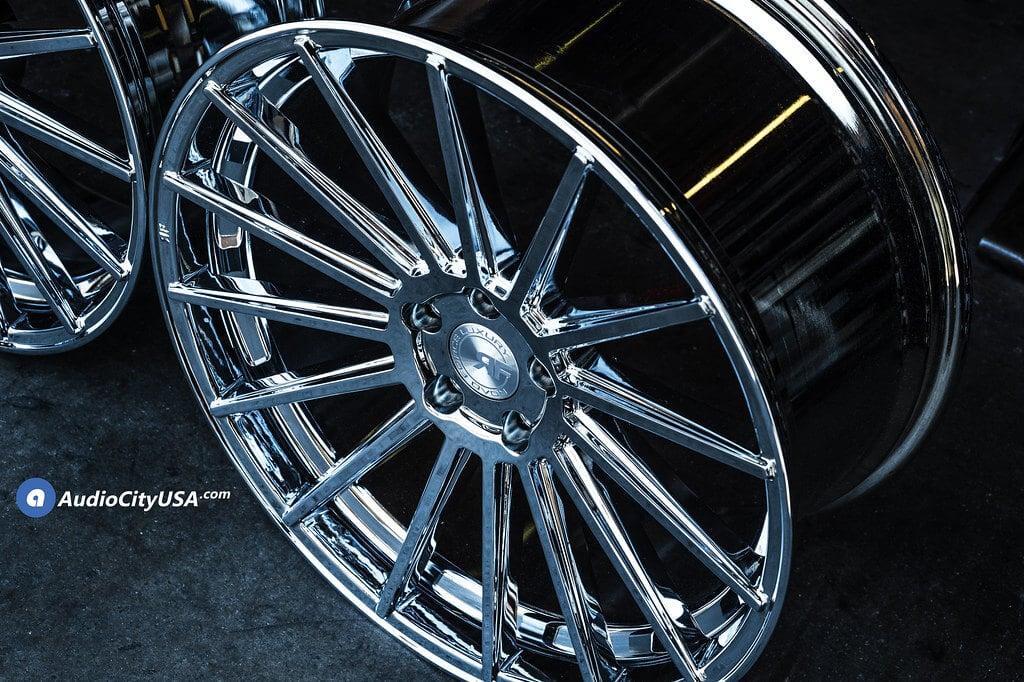 "Re Chrome Rims >> 22"" Staggered Road Force Wheels RF 15 FULL CHROME Rims ..."
