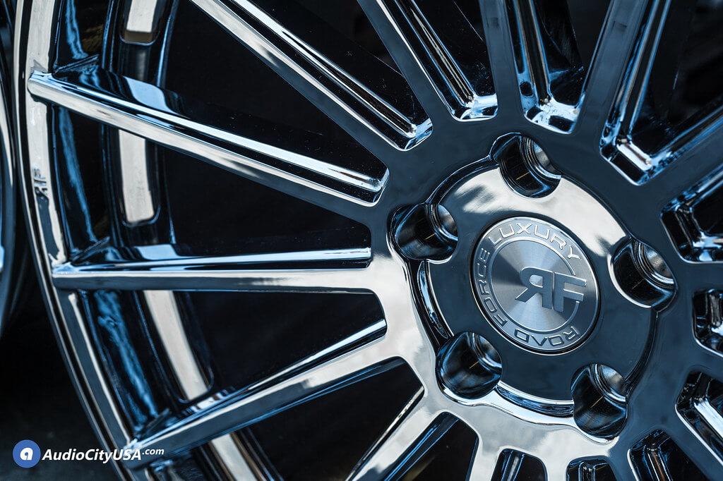 """22"""" Road Force Wheels RF 15 Full chrome"""