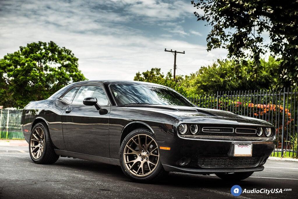 "20"" Staggered Dodge Challenger Hellcat Wheels Bronze OEM Replica Rims |"