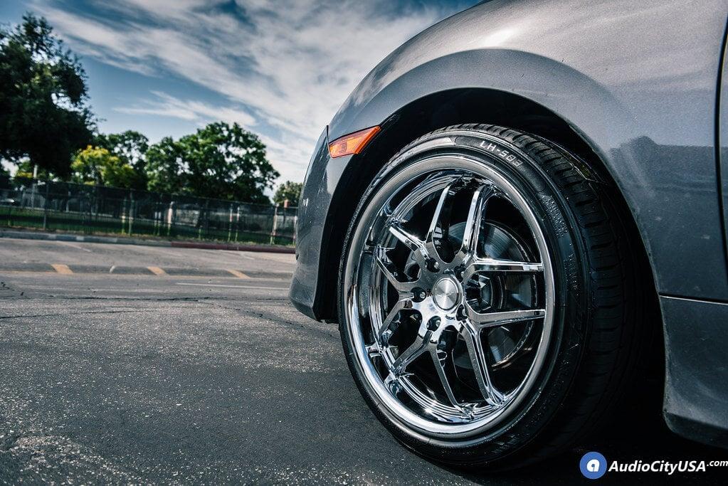 Ace Wheels D659 Vertex Chrome Rims