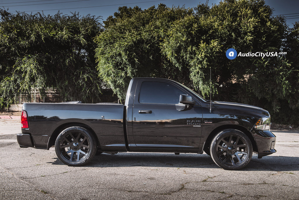 "22"" Dodge Ram SRT10 Wheels Gloss Black OEM Replica Rims 