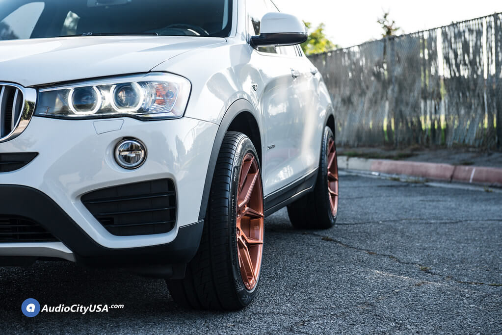 "20"" Giovanna Wheels Haleb Brushed Copper Rims"