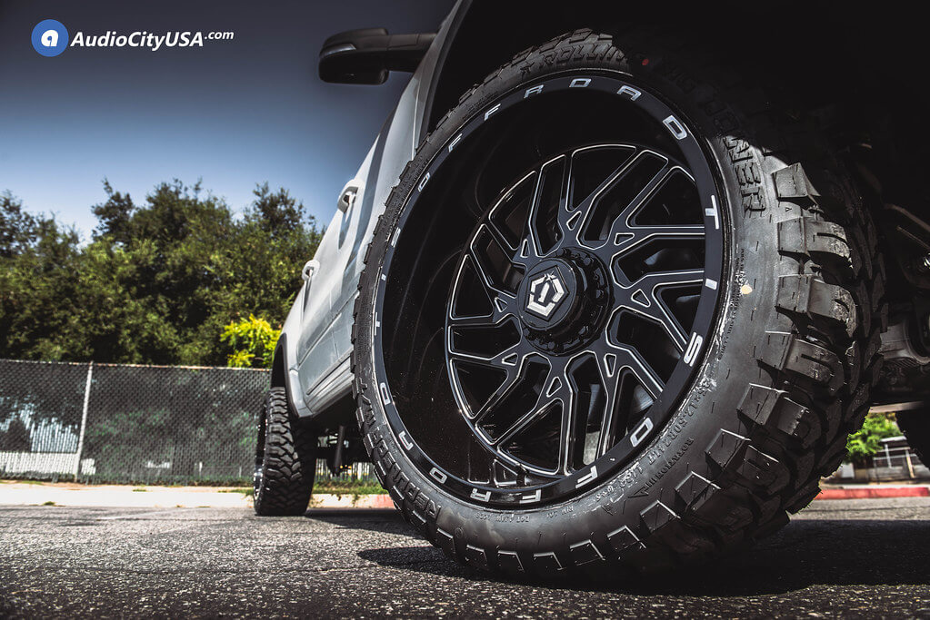 TIS Wheels 544BM with Gloss Black Milled Off-Road Rims