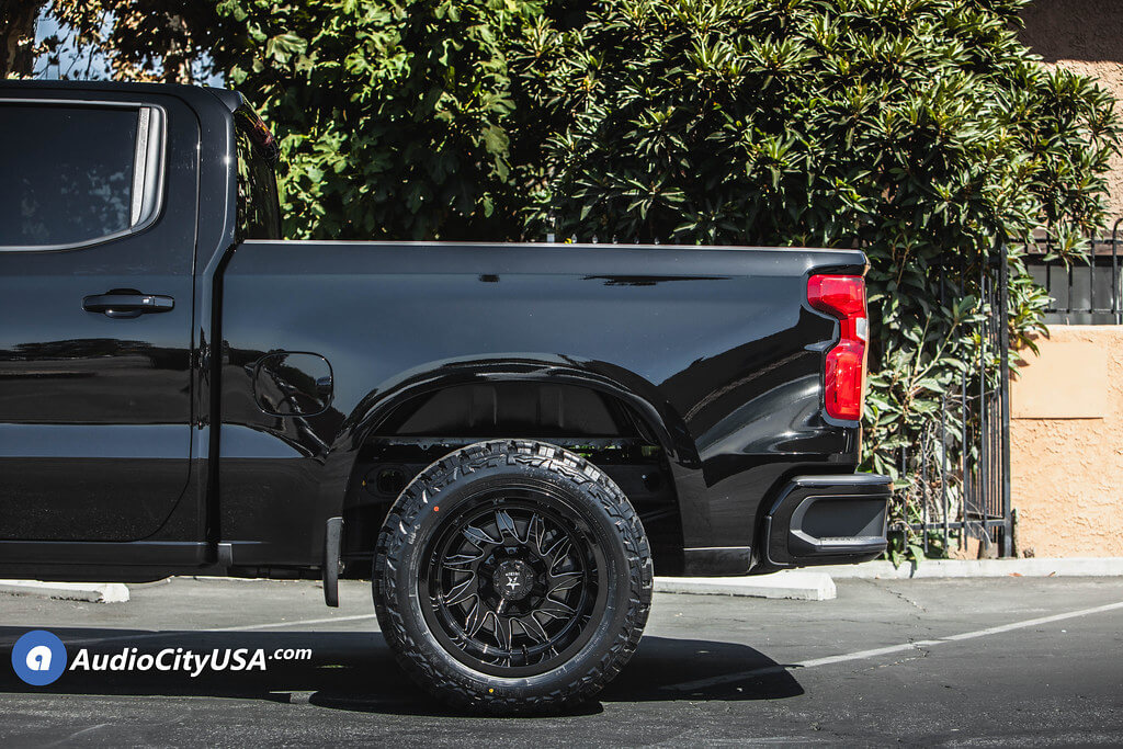 "20"" RBP Wheels 74R Silencer Gloss Black Milled Off-Road Rims"