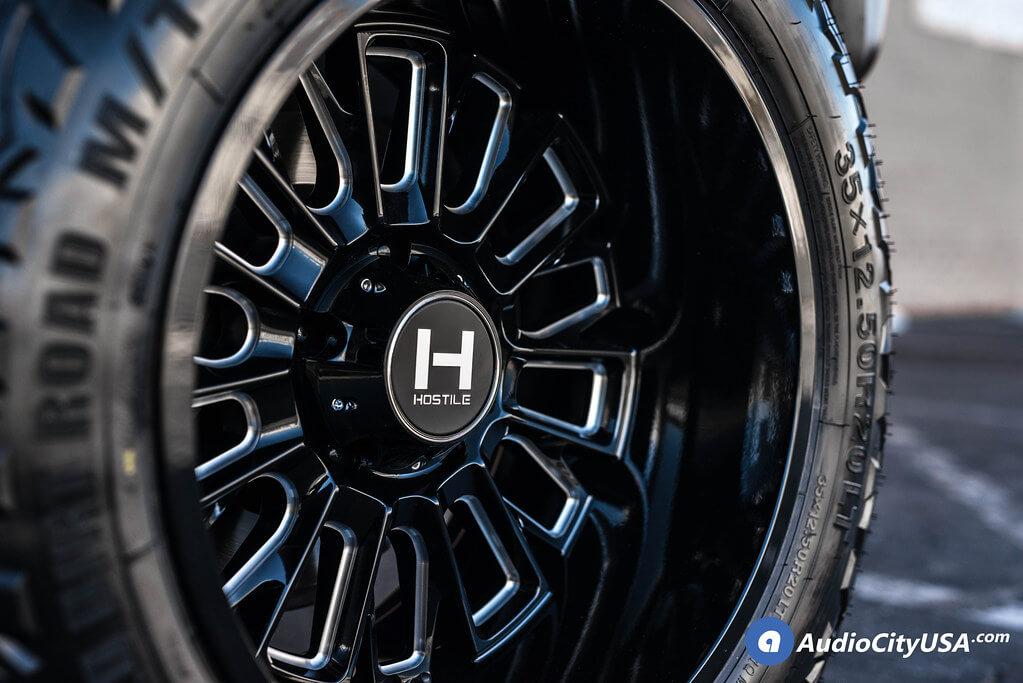 Hostile Wheels H114 Fury Gloss Black