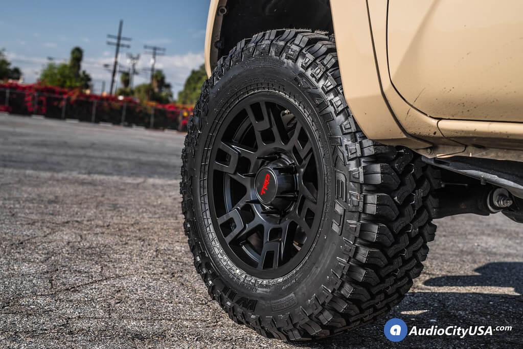 "17"" Tacoma TRD Wheels Satin Black OEM Replica Rims"