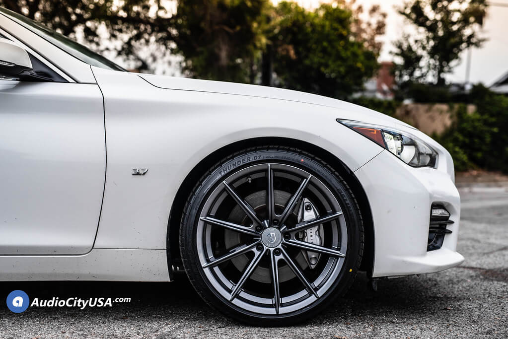 "20"" Staggered Curva Wheels"