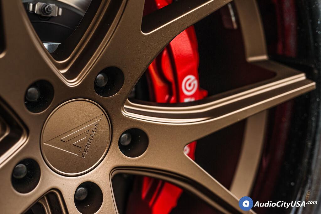"""22"""" Staggered Ferrada Wheels"""